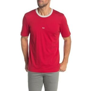 NWT Helmut Lang Taxi Ringer T-Shirt Red